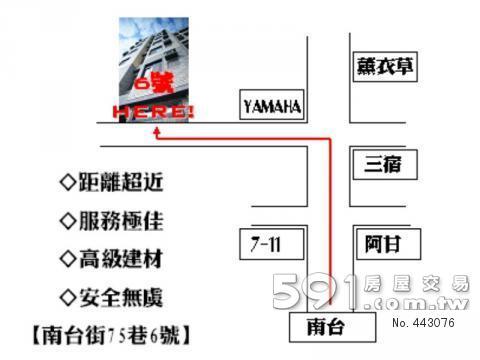 位址圖例說明