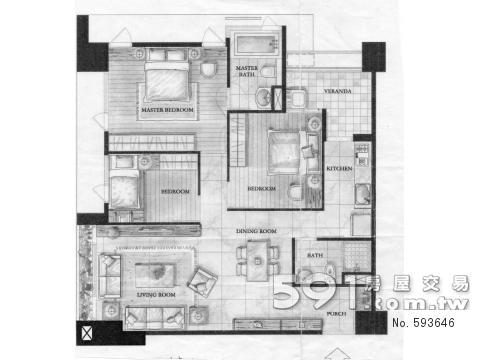 家具配置參考圖