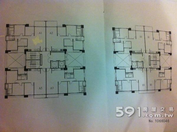 此房為B2之6樓, 面東河畔