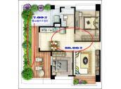 自售新屋25%低公設~7.89坪露台未登